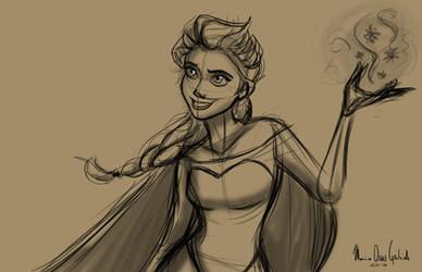 Elsa by MarioOscarGabriele