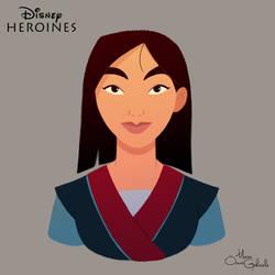 Mulan by MarioOscarGabriele