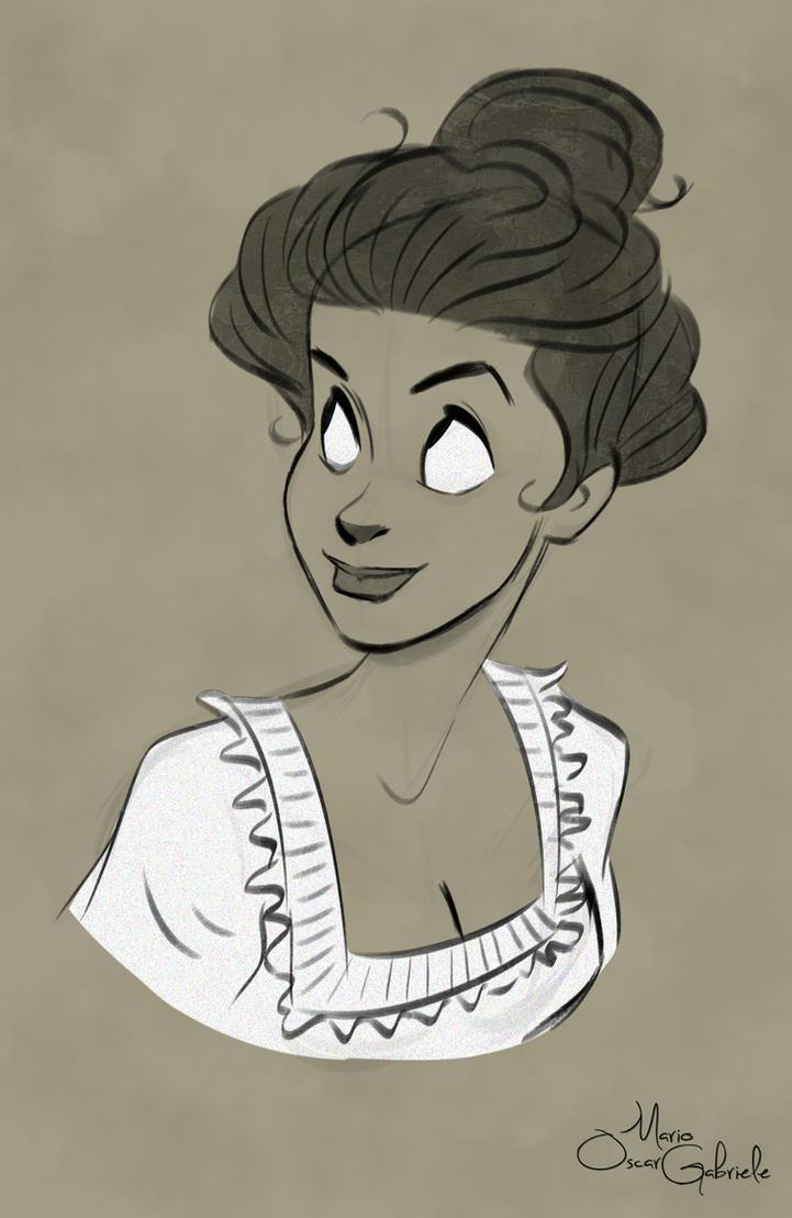 Belle Epoque Girl by MarioOscarGabriele