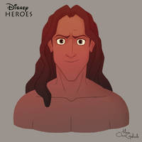 Tarzan by MarioOscarGabriele