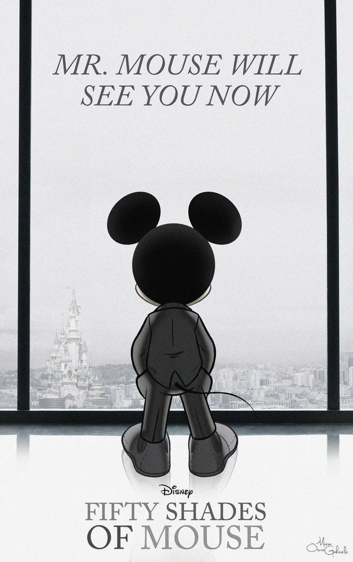 Fifty shades of Mouse by MarioOscarGabriele