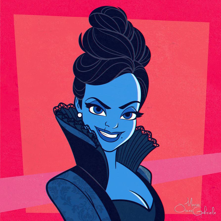 Regina Mills by MarioOscarGabriele