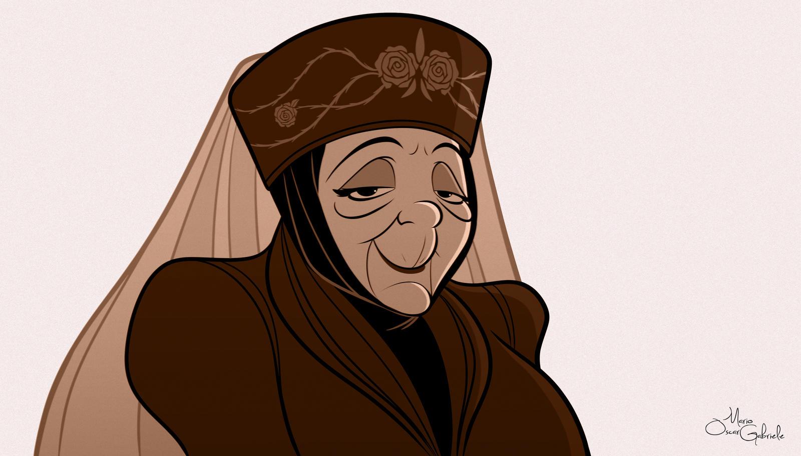 Lady Olenna by MarioOscarGabriele