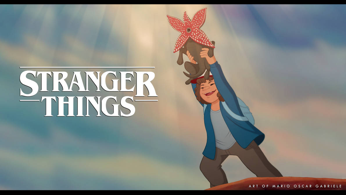 Stranger Things meets The Lion King by MarioOscarGabriele