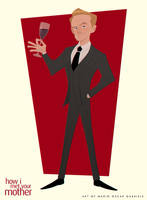 Barney Stinson by MarioOscarGabriele