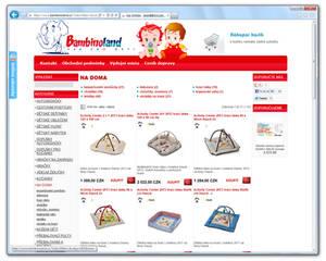 www.BAMBINOLAND.cz [ProFact 3.0 E-SHOP]