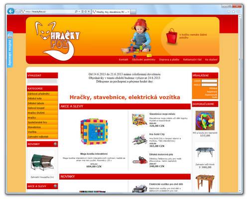 www.HRACKYFOX.cz [ProFact 3.0 E-SHOP]