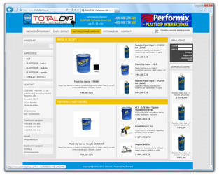 www.TOTALDIP.cz [ProFact 3.0 E-SHOP] by eXmind-ProFact