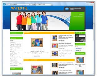 www.W-TEXTIL.cz [ProFact 3.0 E-SHOP] by eXmind-ProFact