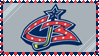.. Blue Jackets Stamp .. by DoomTaco