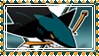 x_. SJ.Sharks Stamp v.1 ._x by DoomTaco