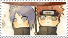 Stamp -Naruto- PainxKonan (Chibi) by PJXD23