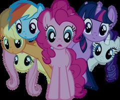 Pony stare by starboltpony
