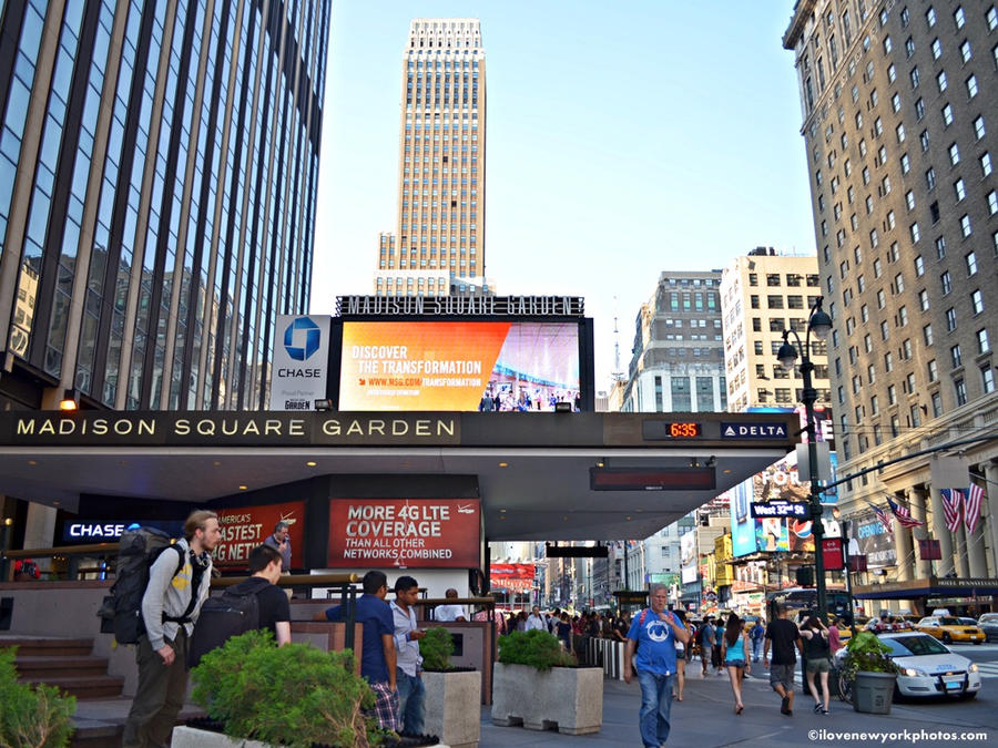 Elegant Madison Square Garden   New York City By NYPhotos ...