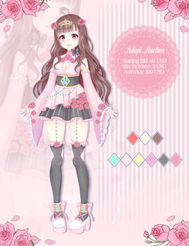 [OPEN] Adoptable Auction | Hime