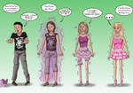 Barbie inanimate TF TG [CM]