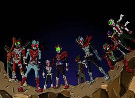 Kamen Rider Forever by Andrimnir