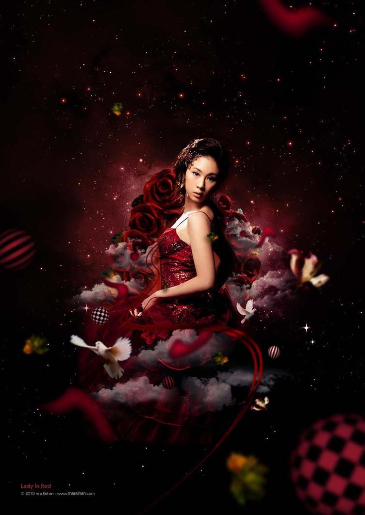 Lady in Red by D-Guru