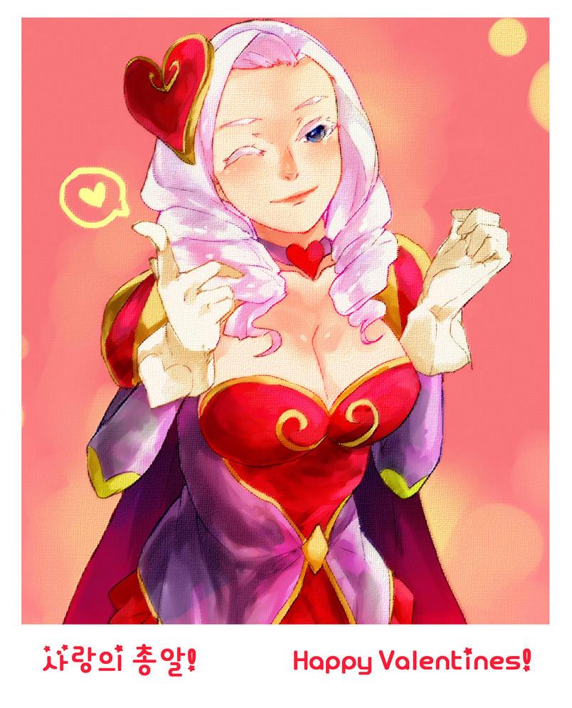 Heartseeker Ashe by cyblix on DeviantArt