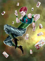Hisoka - Bloodcards by qhici