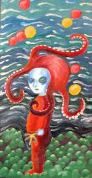 Baby Medusa - Octopus Girl