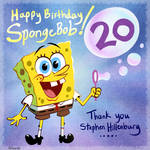 SpongeBob's Birthday! by PiggyInPink