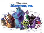 Monsters Inc. autographs