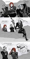 Dammit, Garrus... (Mass Effect)