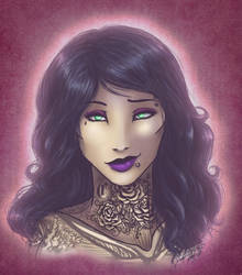 Zoe Rose Caballera by Barguest