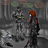 Out of the way, Javik... by Barguest