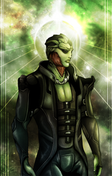 The Assassin - Mass Effect by Barguest