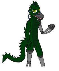 Crocodile Of Metal