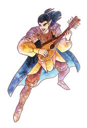 Jex the Half Elf Bard