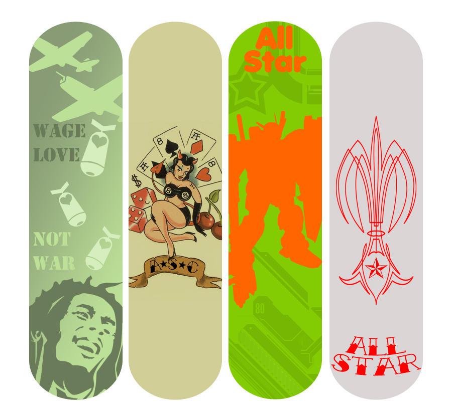 Skateboard Design Pt.1 by KOZASC