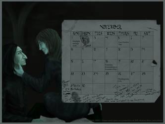 Snape's Calendar --HP: Snupin by omni-sama