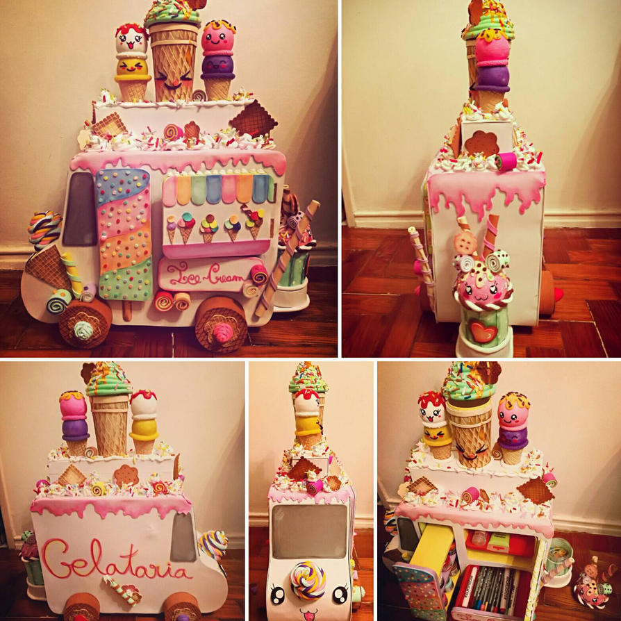 Ice cream van organizer  by Beluchybessy