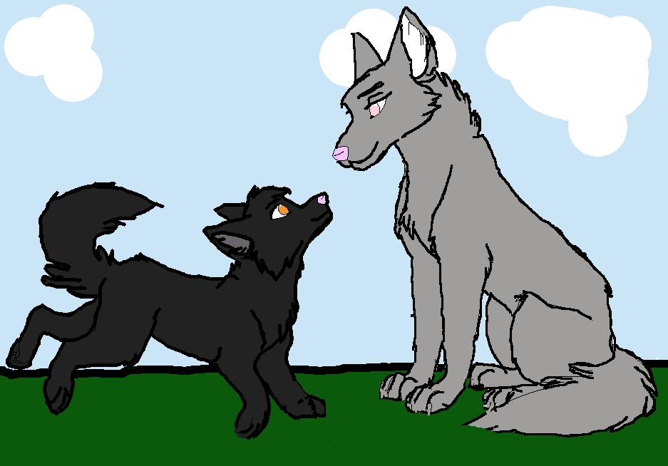 Echo and Jordan by alykitty005