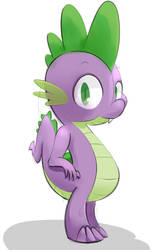 Spike doodle by SaranR