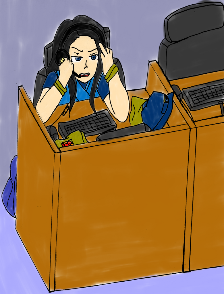 Call Centers, Not Even Once by ShiningMasenko