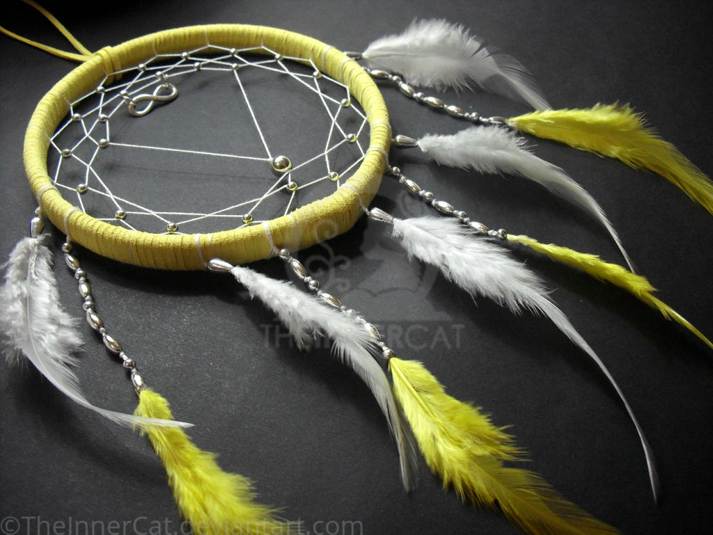 Infinity Dream Catcher (Hand Made) by TheInnerCat
