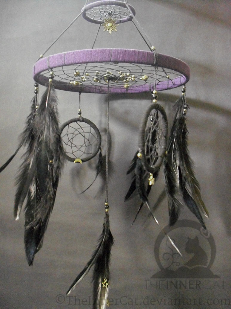How Are Dream Catchers Made Solar System Dream Catcher '40'Hand Made by TheInnerCat on DeviantArt 7