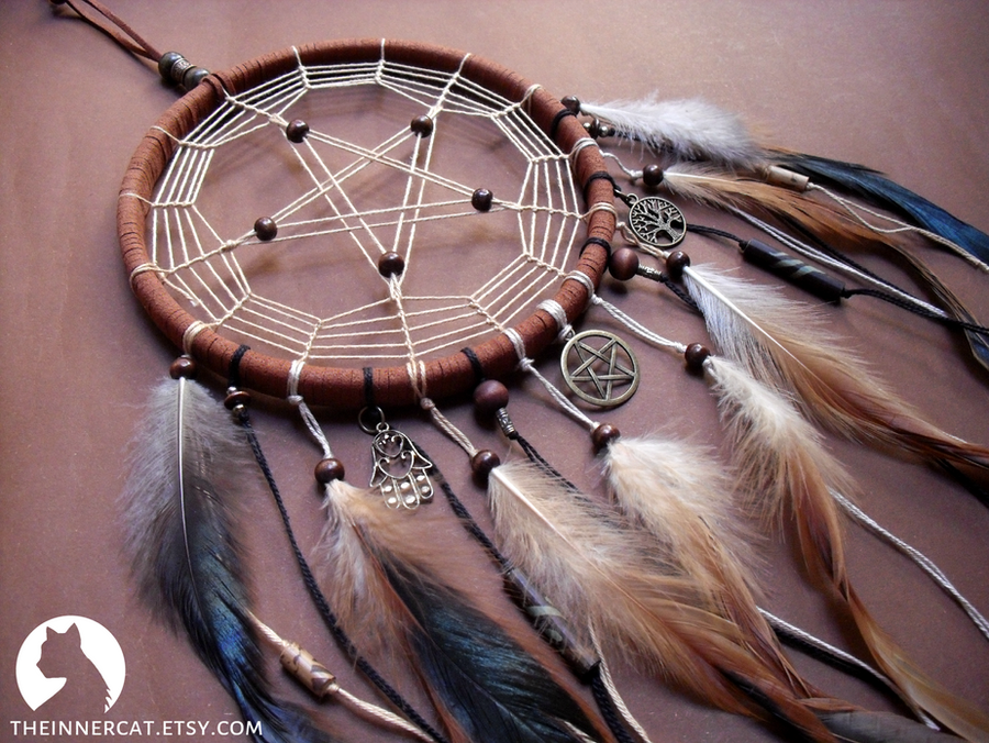 The Pentacle Dream Catcher 40 By TheInnerCat On DeviantArt Delectable Can Dream Catchers Cause Nightmares