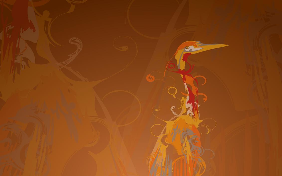 Ubuntu Hardy Heron Bird by em3rveillement