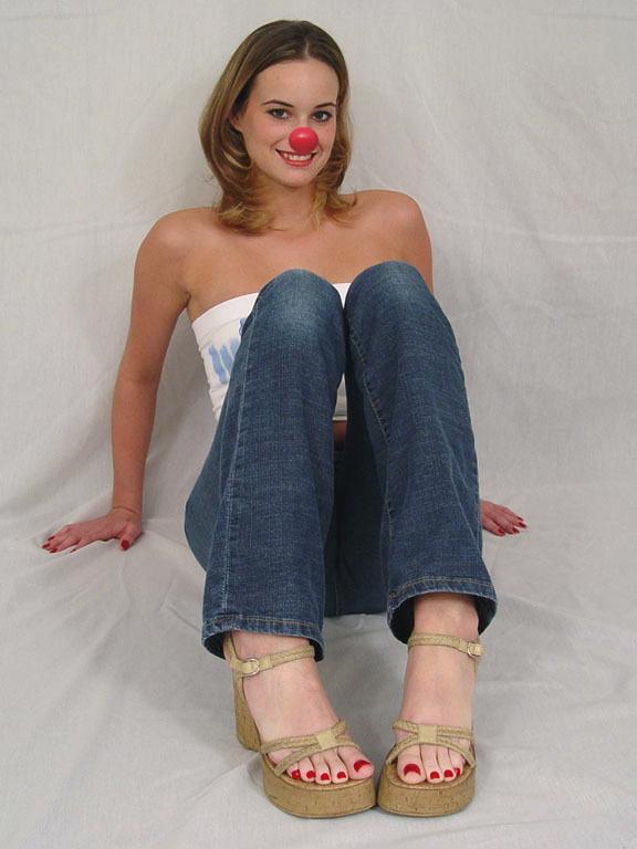 Clown Feet by thecuteclown on DeviantArt