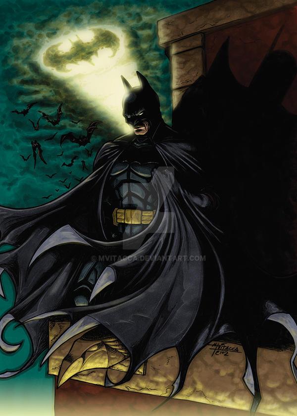 BATMAN - Coloured Version by mvitacca