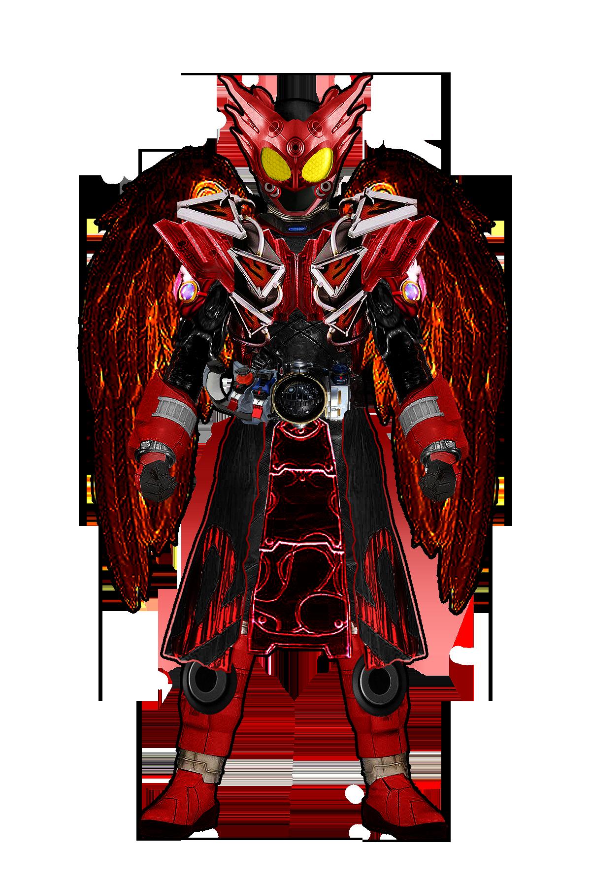 Kamen Rider Ikarus (Dark Rider from Fourze Novel)