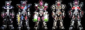 Heisei Rider Armor Part1