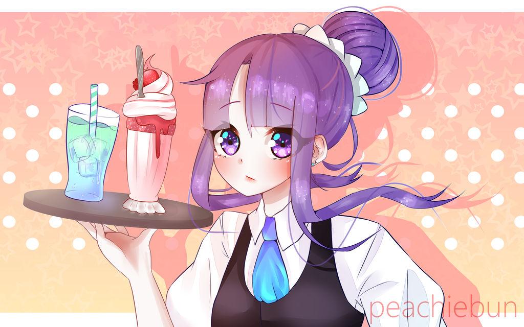 Cafe by peachiebun