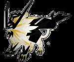 Dusk Wings Necrozma: Psychic and Steel type