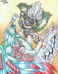 Alucard vs Lord Daemon!!!